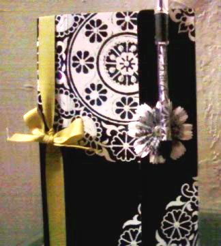 Note Pad Holder with Matching Pen