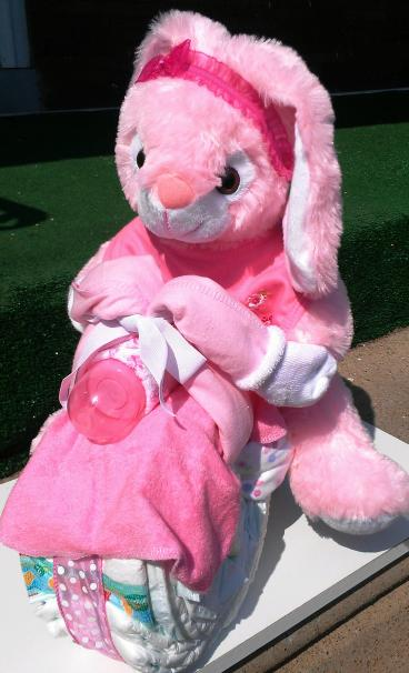 Pinkalicious Bunny Bike - Front View
